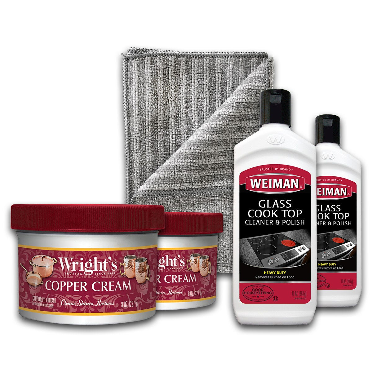 Copper and Cooktop Cleaning Kit